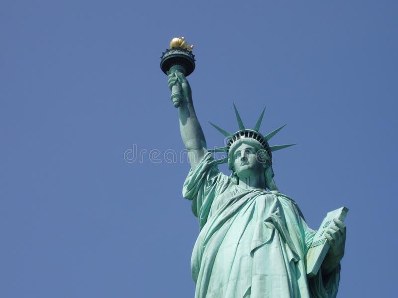 Freiheitsstatue u stockbild