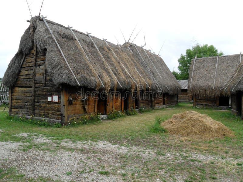 Freilichtmuseum, Bunge, Gotland, Sweeden lizenzfreie stockfotos