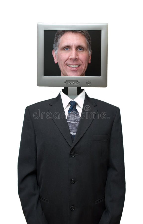 Freindly Computer, Internet, Technology Isolated stock images