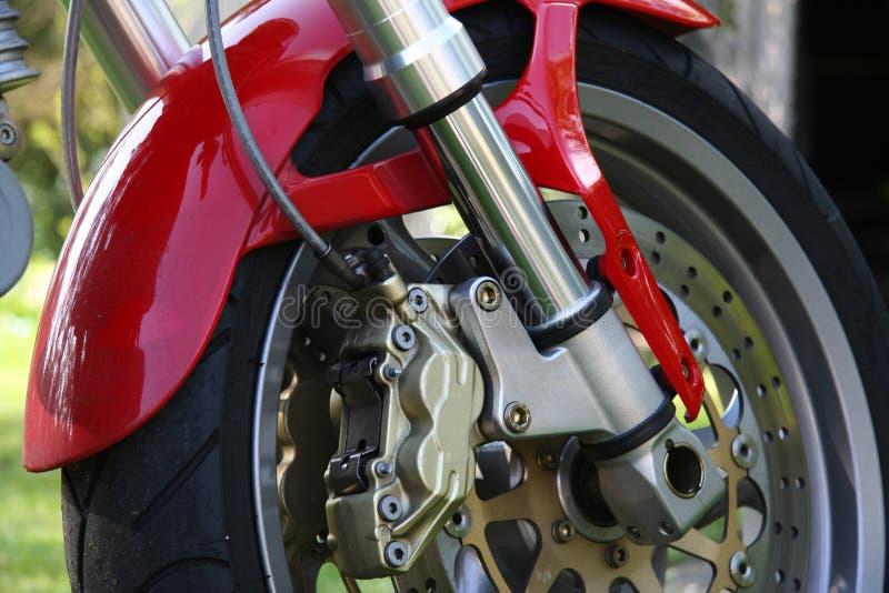 Freins de moto photographie stock