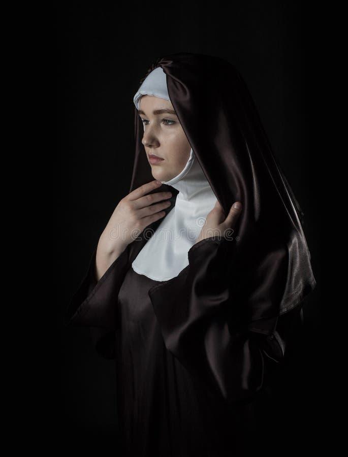 Freira católica imagens de stock