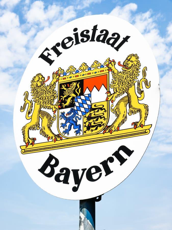 Freistaat Bayern stock image. Image of single, decoration ...
