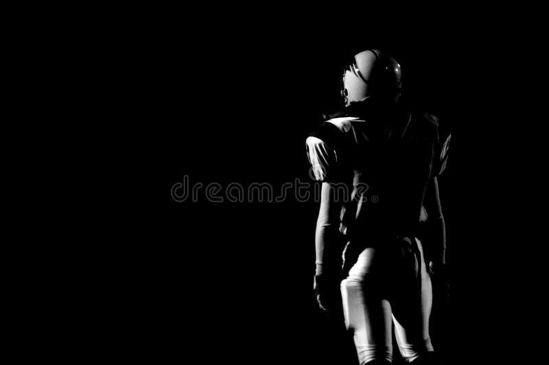 Freitag-Nachtfußball stockfoto