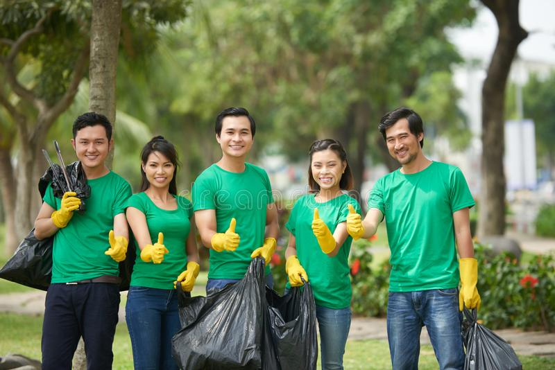 freiwilliger lizenzfreies stockbild