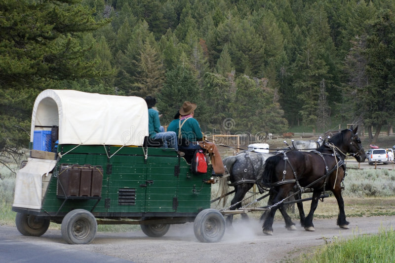 Freizeit in Wyoming lizenzfreie stockfotos