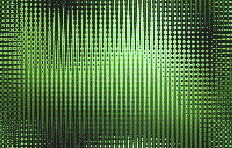 frekvensmodell stock illustrationer