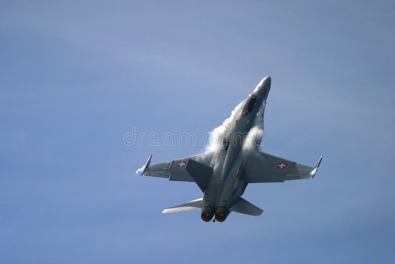 Frelon de McDonnell Douglas F/A-18 photographie stock