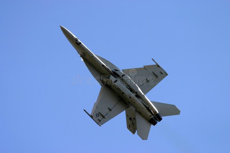Frelon de McDonnell Douglas F/A-18 image libre de droits