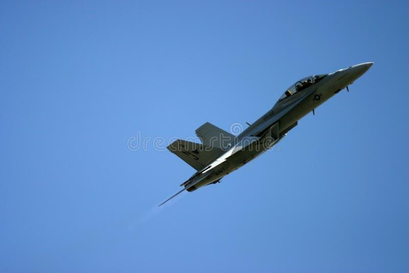 Frelon de McDonnell Douglas F/A-18 images libres de droits