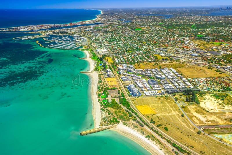 Fremantle南海滩 库存图片