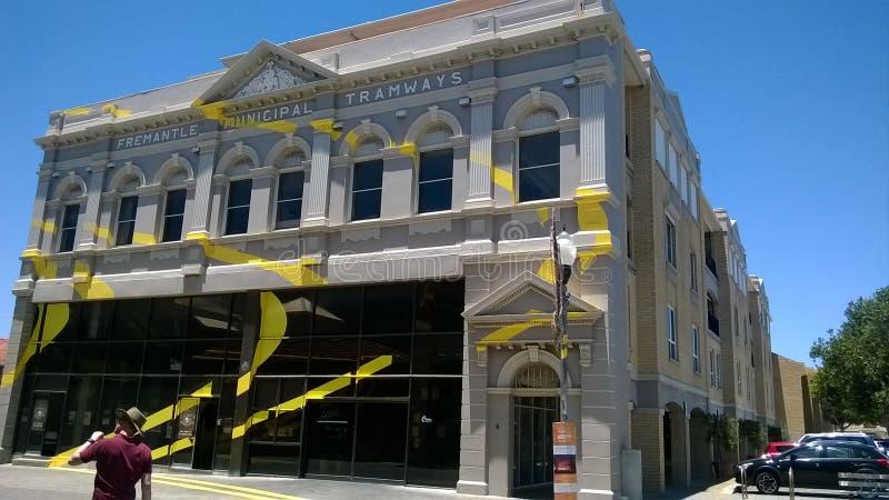 Fremantle dans l'Australie occidentale Art Display photo libre de droits