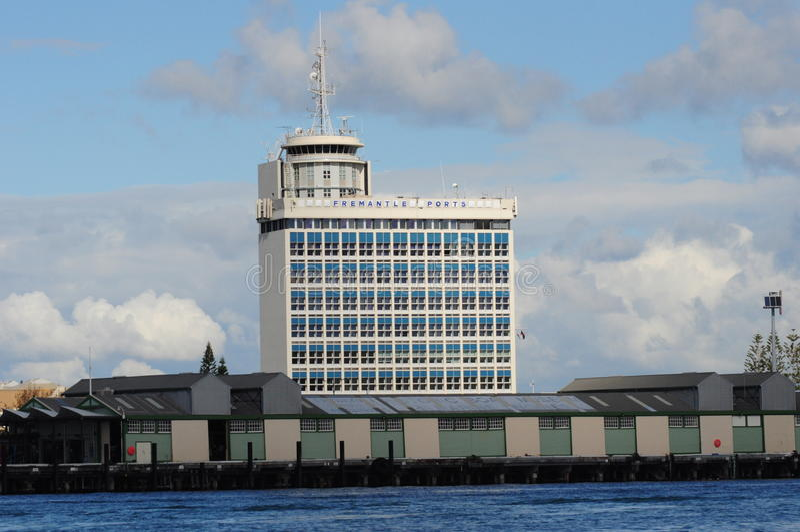 Fremantle Port Authority Head Quarters Perth stock images