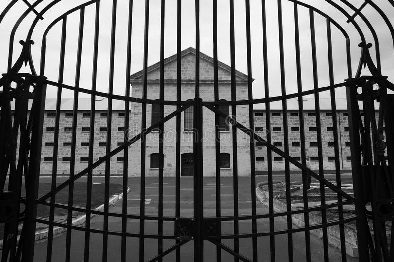 Fremantle Prison Gate and Entrance royalty free stock images