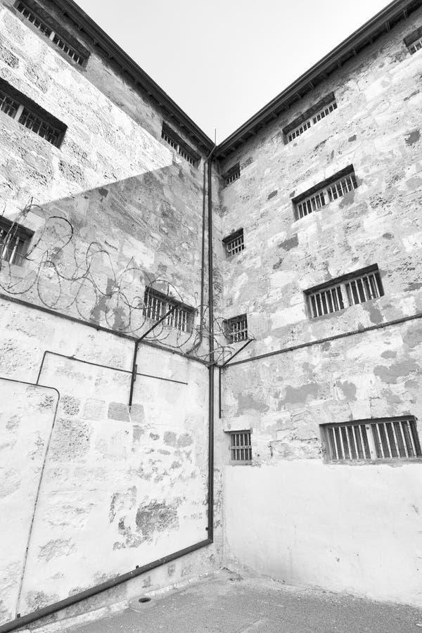 Fremantle więzienie, zachodnia australia obraz stock