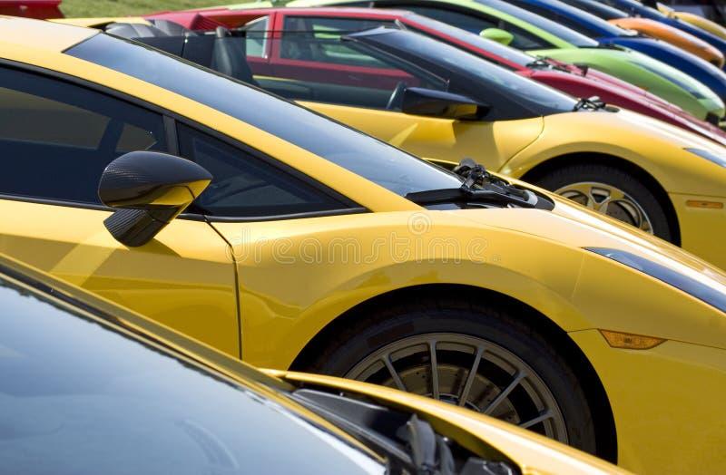Fremde Sport-Autos lizenzfreie stockbilder