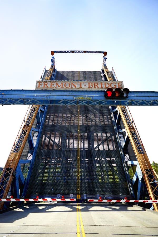 Fremont most - Seattle, Waszyngton obrazy stock