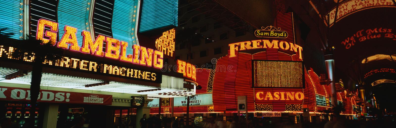 Fremont Street Experience royalty free stock photos