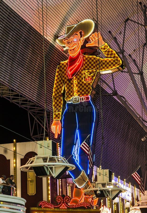 Fremont Street in Las Vegas, Nevada royalty free stock image
