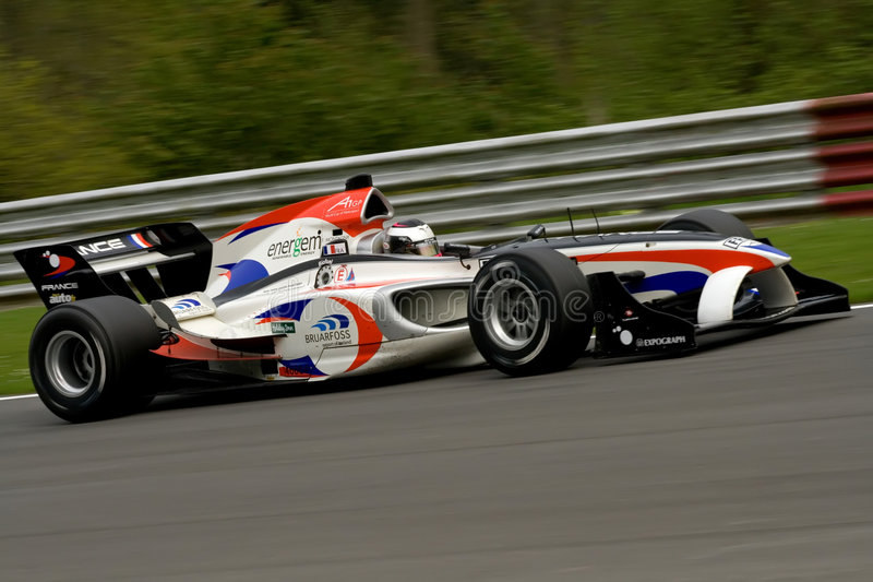 French a1 gp race car royalty free stock image