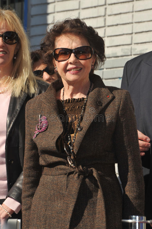 Leslie Caron. French actress Leslie Caron was honored today with the 2,394th star on the Hollywood Walk of Fame. December 8, 2009 Los Angeles, CA Picture: Paul stock photos