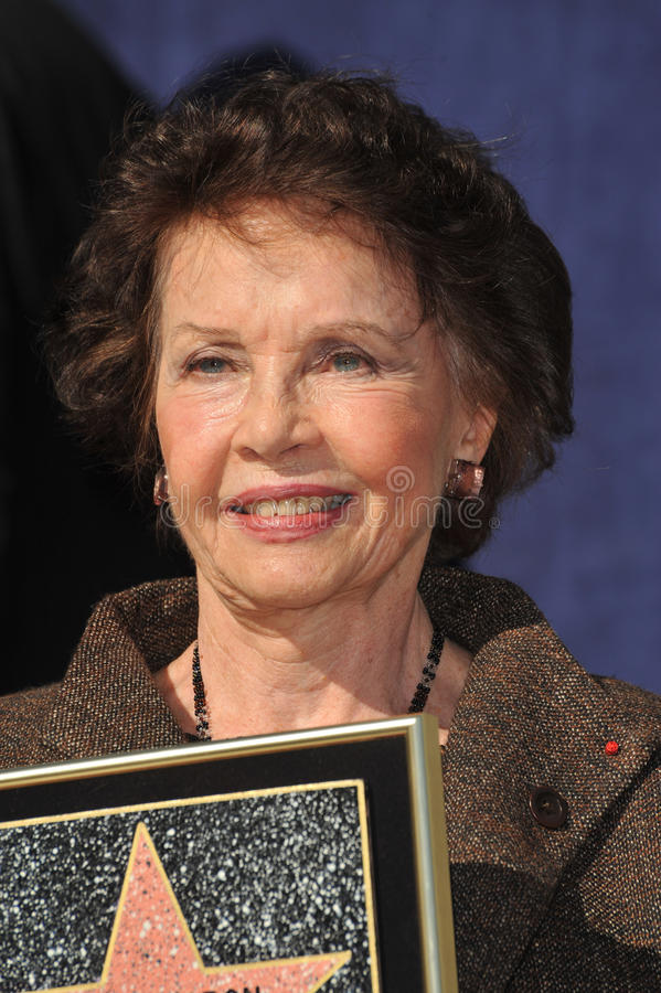 Leslie Caron. French actress Leslie Caron was honored today with the 2,394th star on the Hollywood Walk of Fame. December 8, 2009 Los Angeles, CA Picture: Paul stock photography