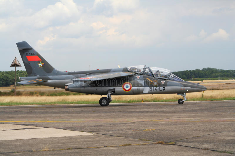 French Air Force Dassault Alpha Jet royalty free stock images