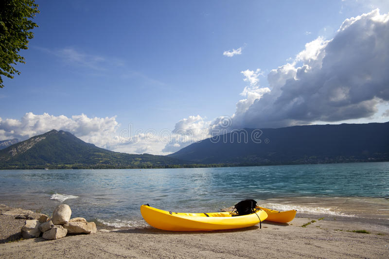 Download French Annecy lake stock photo. Image of resort, flowers - 20134566