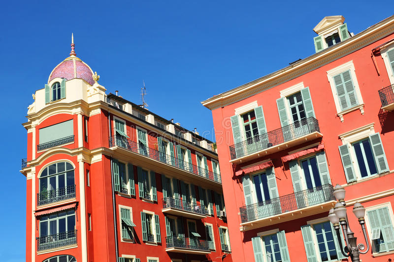 French architecture royalty free stock photography