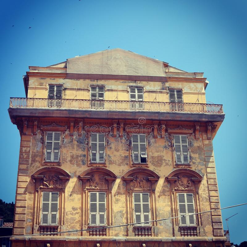 French architecture royalty free stock photos