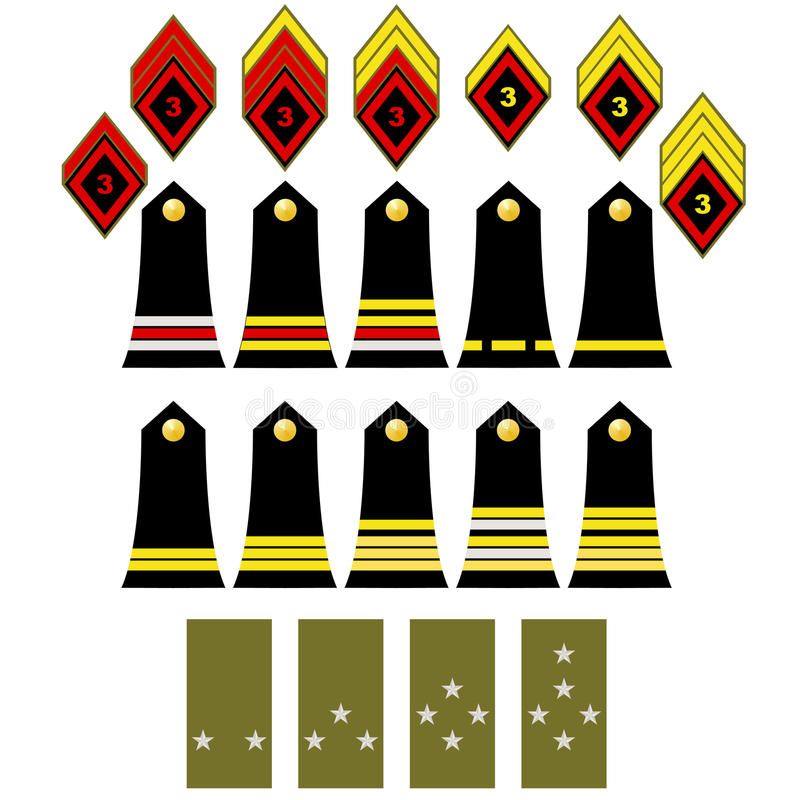 The French army insignia