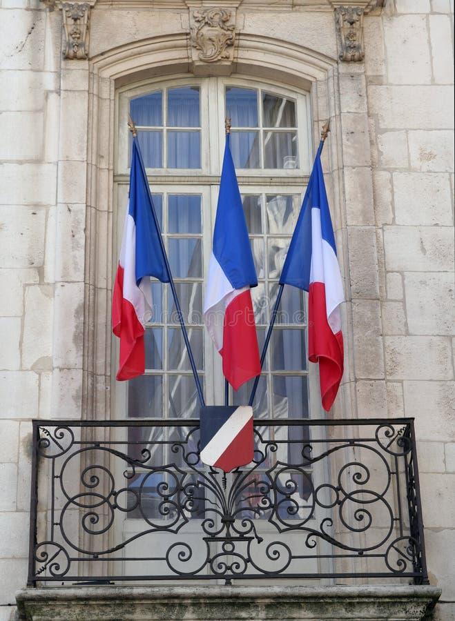 french bandery zdjęcia royalty free
