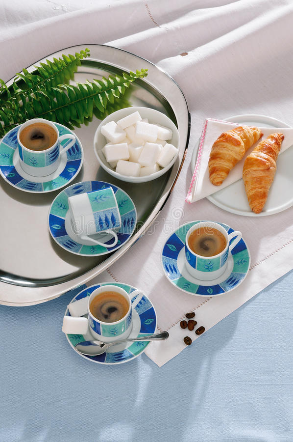 Download French breakfast stock image. Image of tablecloth, french - 14782643