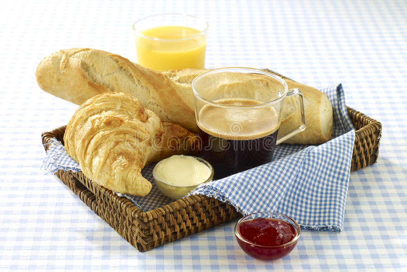 Download French breakfast stock photo. Image of style, baguette - 23703960
