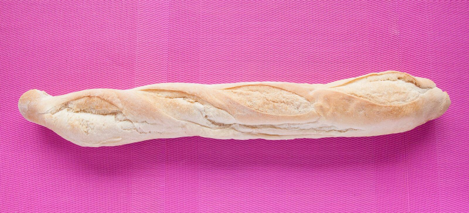 French Bred Baguette Royalty Free Stock Images