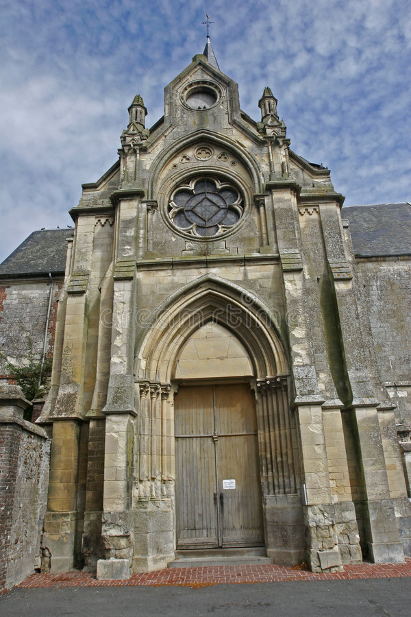 French Brittany Church Royalty Free Stock Photos