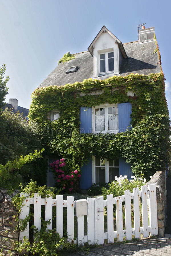 Download French Brittany House Stock Image - Image: 10401201
