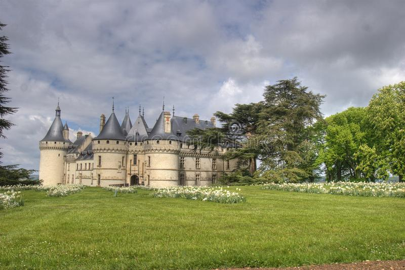 Download French Castle And His Garden Stock Image - Image: 10755625