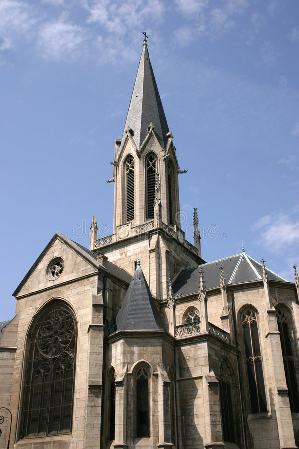 French cathedral royalty free stock images
