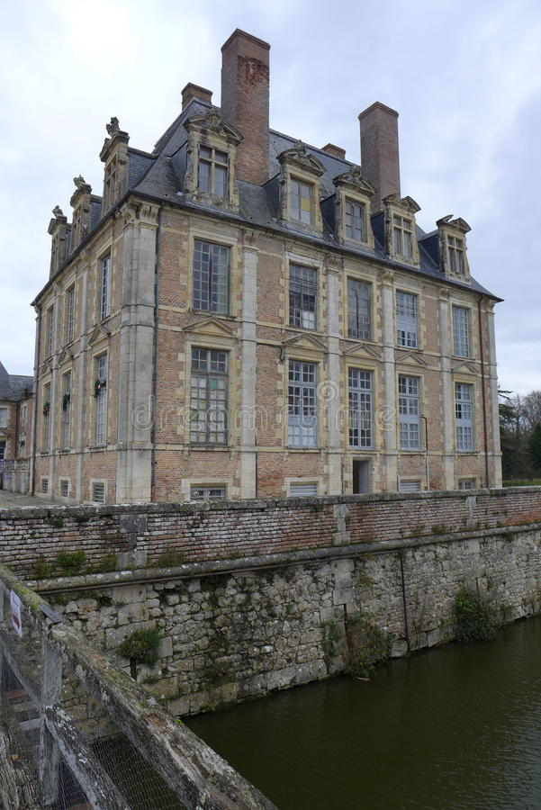 French chateau royalty free stock photo