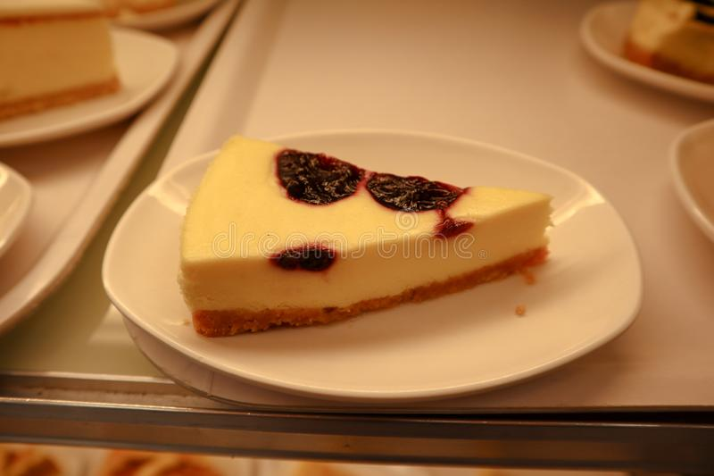 French cheese cake with blackberry. Mascarpone, china, italian, , restaurant, sweet, , italy, travel, dessert, yummy, soft, amazing, tasty, delicious, , coco stock photography