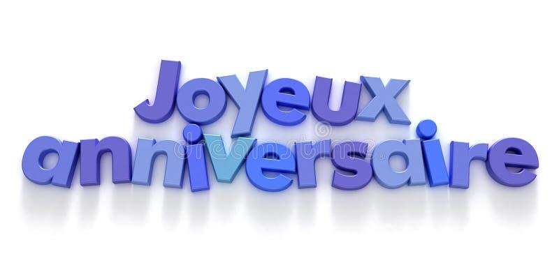 French congratulations stock illustration