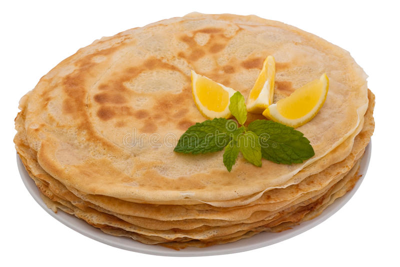 French Crepes stock photos