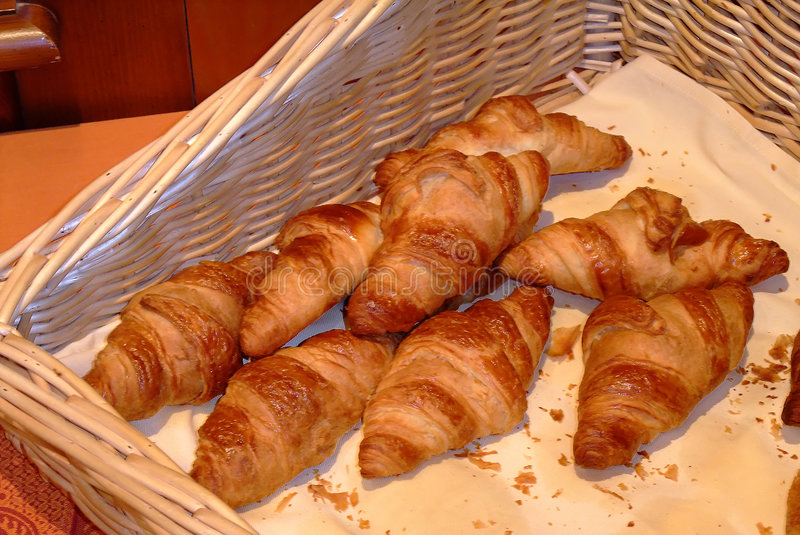 Download French croissants - stock photo. Image of france, breakfast - 8566984