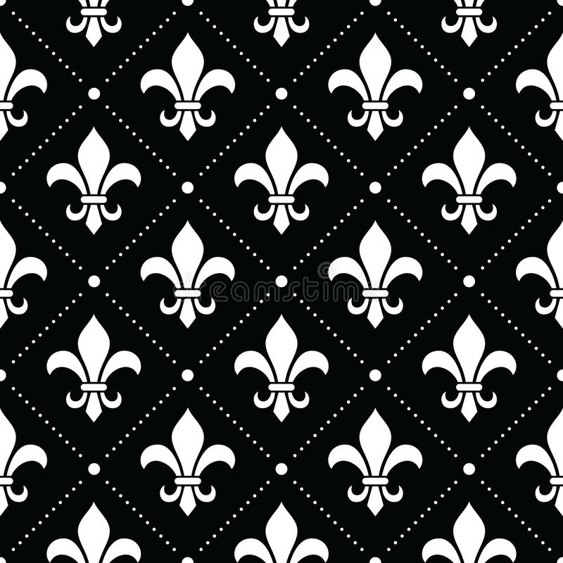 French Damask Background