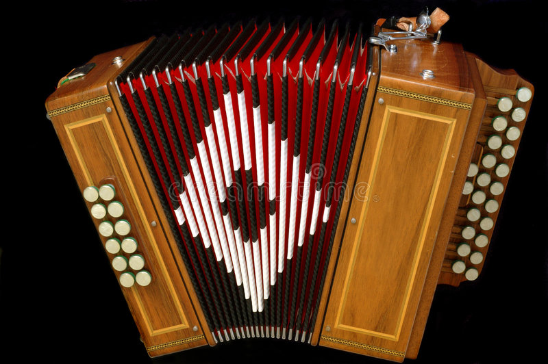 Download French Diatonic Accordion Royalty Free Stock Photography - Image: 1021757