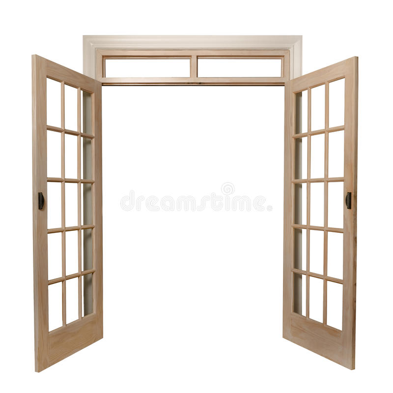 Download French doors stock photo. Image of entrance, glass, transom - 22886538