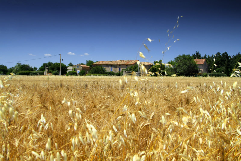 French farm house royalty free stock photography