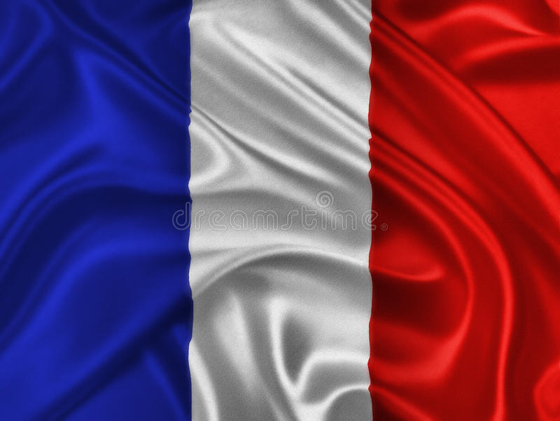 Download French Flag stock illustration. Image of nationalism - 27836993