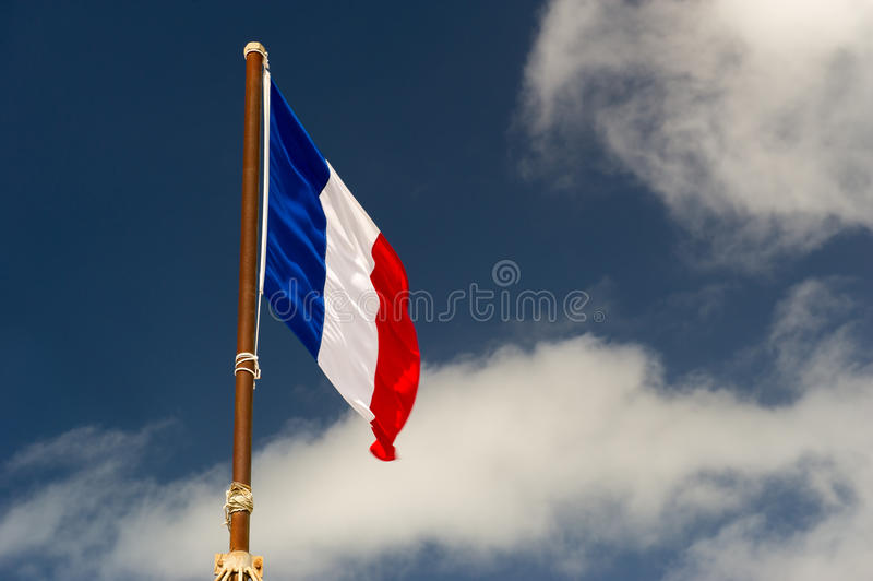 Download French flag stock photo. Image of france, white, windy - 28129828