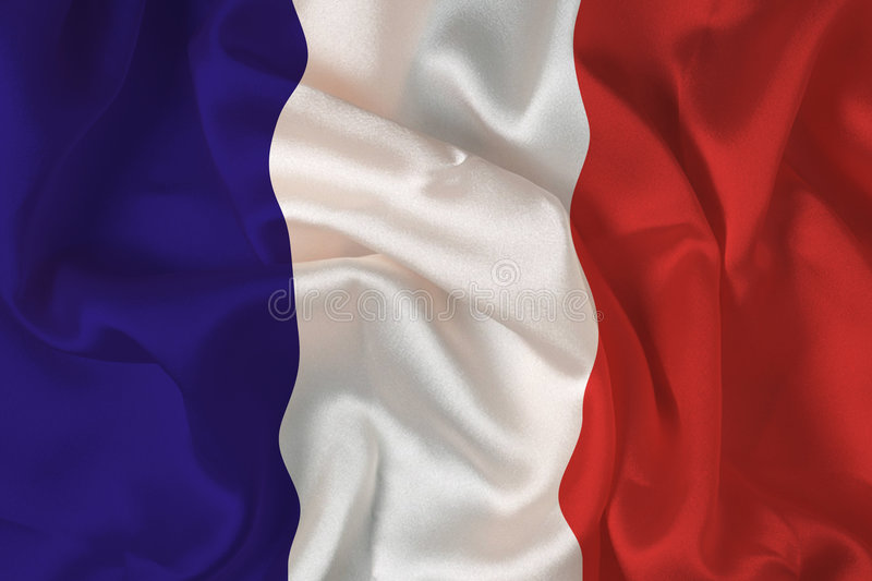 French flag - digital royalty free stock images
